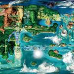 Pokemon Omega Ruby Alpha Sapphire Hoenn Map Canada Pre Order Bonus EB Games Videotron