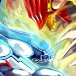 Pokemon Omega Ruby Alpha Sapphire Mega Battle Kyogre Groudon Fanart by Kawacy Deviant Art