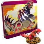 Pokemon Omega Ruby Limited Edition Steelbook Groudon Figure UK 3DS