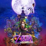 Poster Majora's Mask 3DS Official Artwork Small