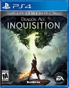 PS4 Boxart Dragon Age 3 Inquisition 2014 USA