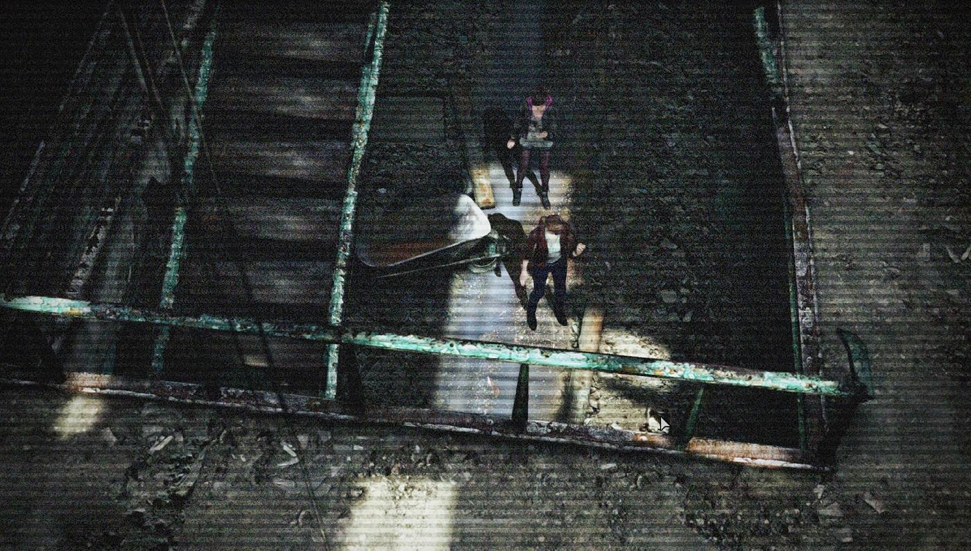 Resident Evil Revelations 2 Camera Viewpoint Above Gameplay Screenshot