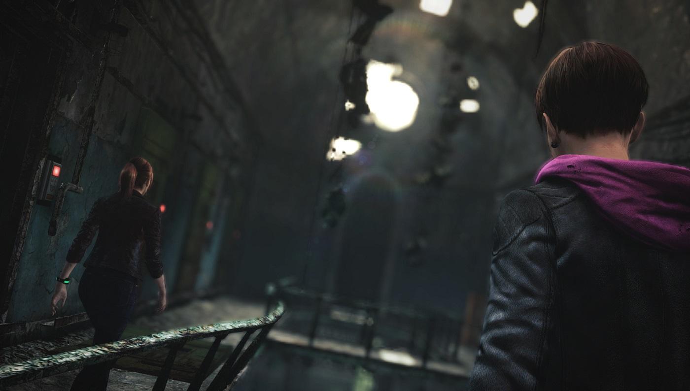 Resident Evil Revelations 2 Railing Gameplay Screenshot