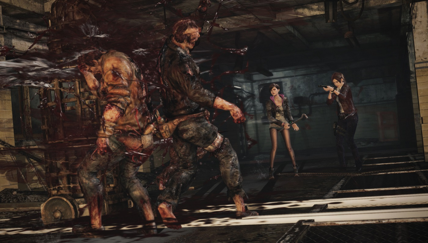 Resident Evil Revelations 2 Sexy Young Legs Moira Gameplay Screenshot