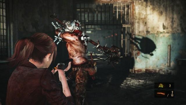 Resident Evil Revelations 2 Shotgun Giant Herbs and Guns Gameplay Screenshot
