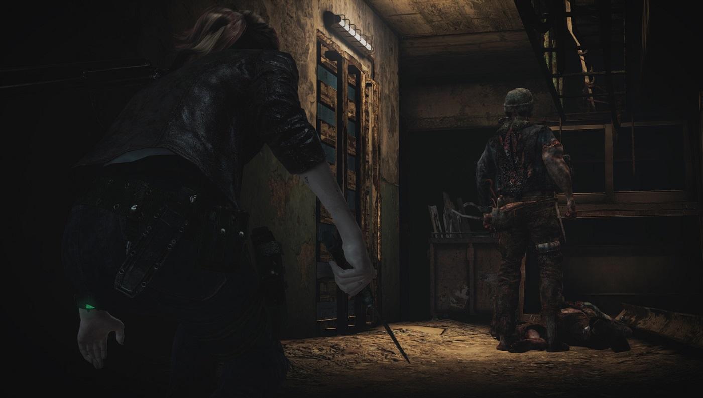 Resident Evil Revelations 2 Stealth Gameplay Screenshot