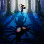 Skullkid In Forest Majora's Mask 3D Official Artwork
