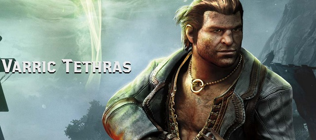 Varric Dragon Age 3: Inquisition Banner Character Artwork