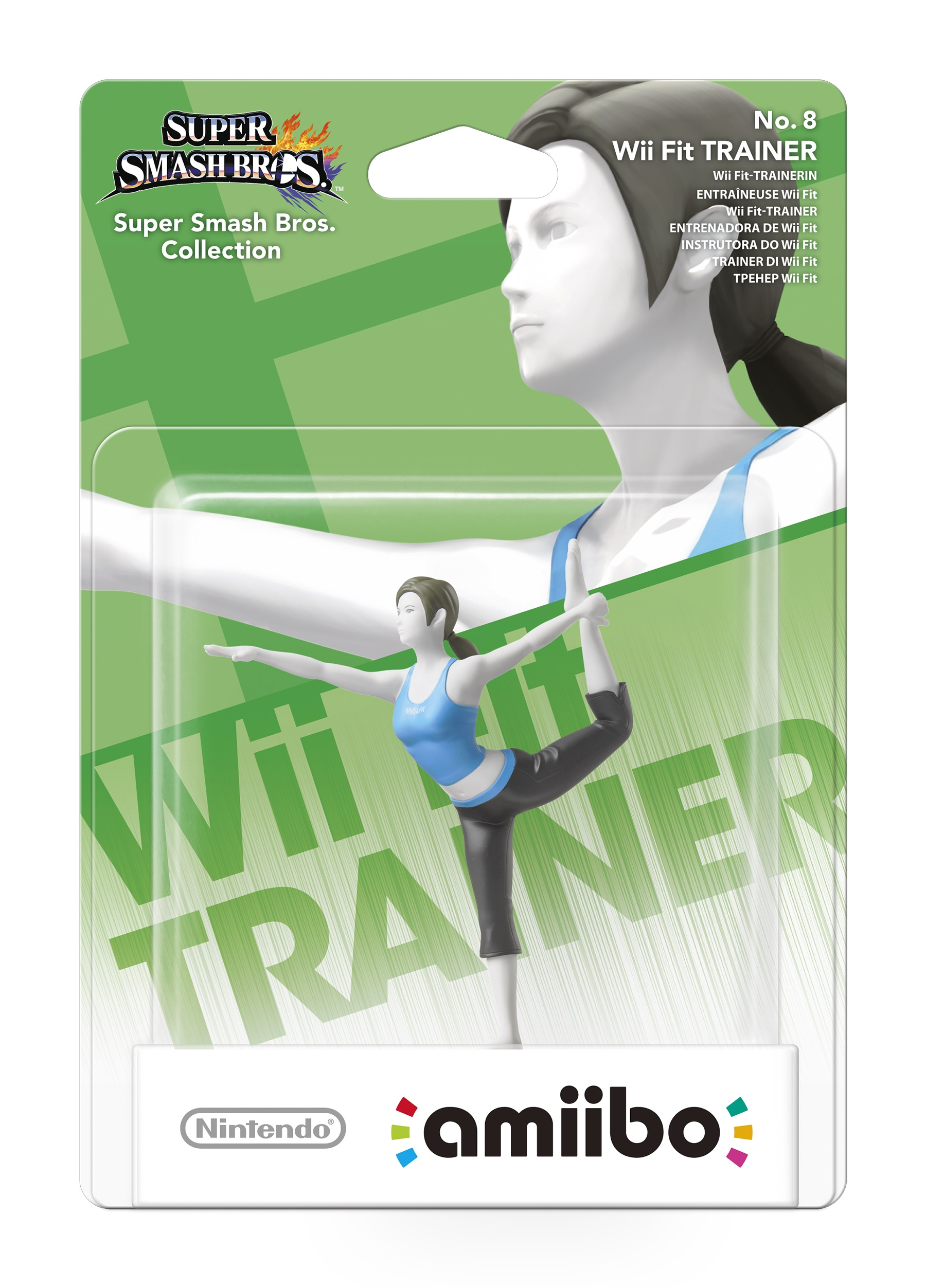 Wii Fit Trainer Girl Amiibo-9700