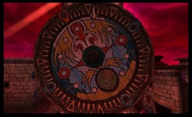Zelda's Majora's Mask 3D Clocktower Gameplay Screenshot 3DS