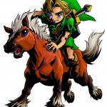 Zelda Majora's Mask 3D Epona Artwork 3DS Official