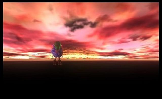 Zelda Majora's Mask 3D Gameplay Screenshot Skyline 3DS