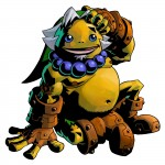 Zelda Majora's Mask 3D Goron Link Artwork 3DS Official