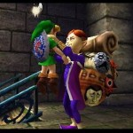 Zelda Majora's Mask 3D Happy Mask Salesman Gameplay Screenshot 3DS