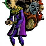 Zelda Majora's Mask 3D HappyMaskSalesman Artwork 3DS Official