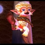 Zelda Majora's Mask 3D Monkey Gameplay Screenshot 3DS