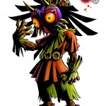 Zelda Majora's Mask 3D Skull Kid Tael Fairy Artwork 3DS Official