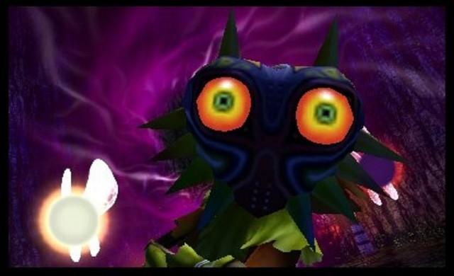 Zelda Majora's Mask 3D Skullkid Spell Gameplay Screenshot 3DS