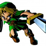 Zelda Majora's Mask 3D Stab Artwork 3DS Official