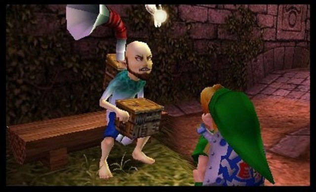 Zelda Majora's Mask 3D Windmill Guy Gameplay Screenshot 3DS