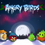 Angry Birds Christmas Wallpaper