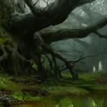 Destiny Giant Trees Jungle on Earth artwork