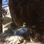 Destiny Guardian tent Home with Tiger pet artwork