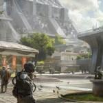 Destiny last human city on Earth artwork