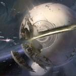 Destiny The Traveler in space artwork