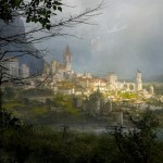 Destiny Valley City on Earth artwork