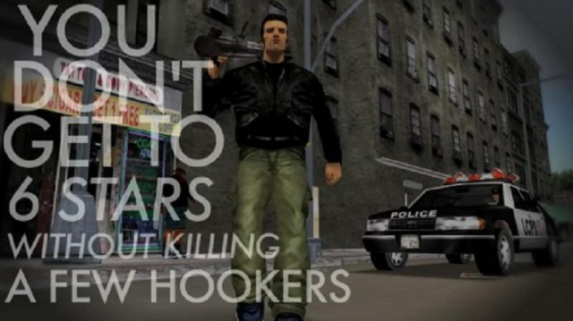 Grand Theft Auto 3 Six Stars Hookers Screenshot Meme