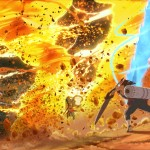 Naruto Shippuden: Ultimate Ninja Storm 4 fire fight screenshot