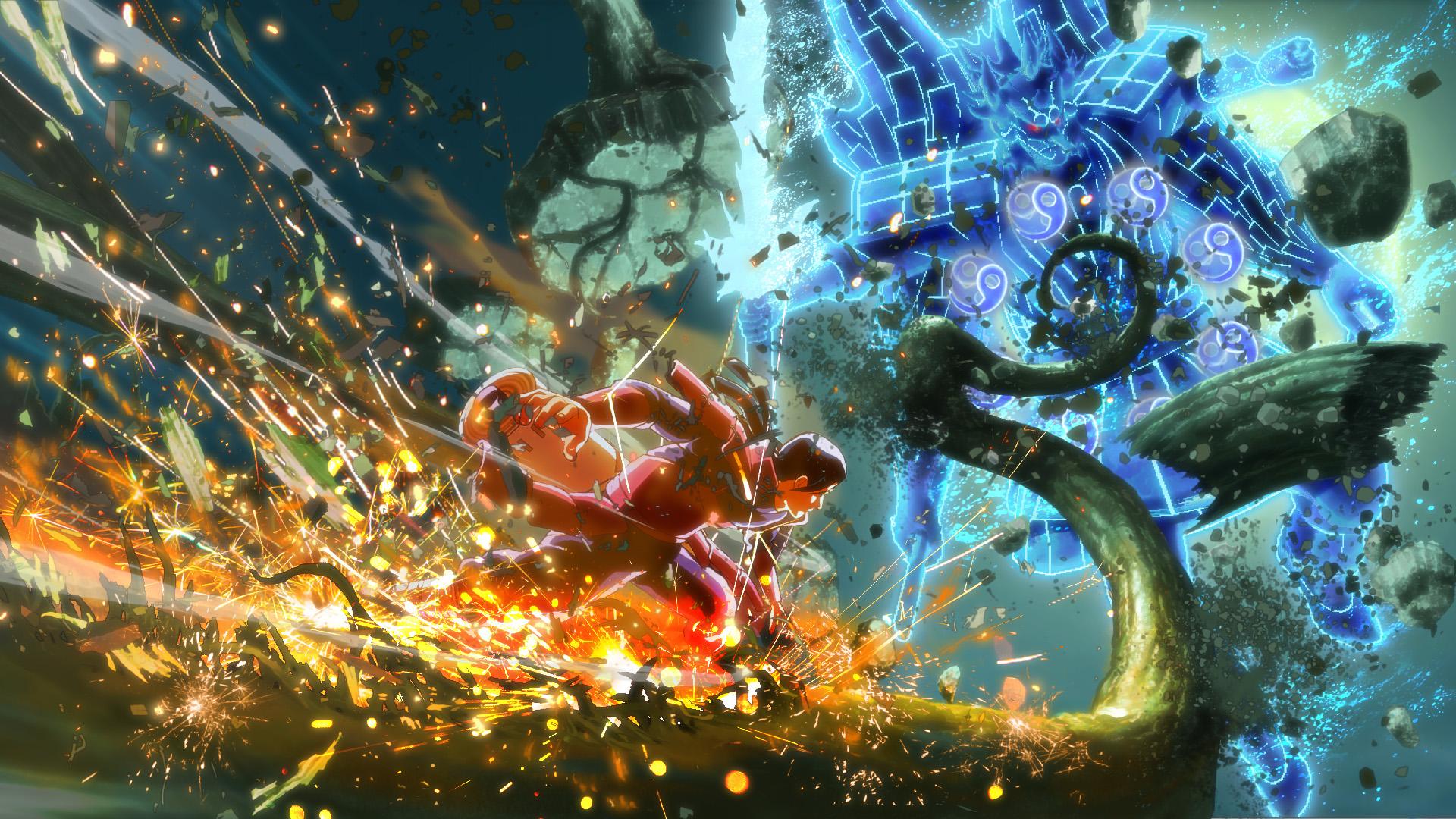 Naruto Shippuden: Ultimate Ninja Storm 4 First Hokage Hashirama Senju fight screenshot