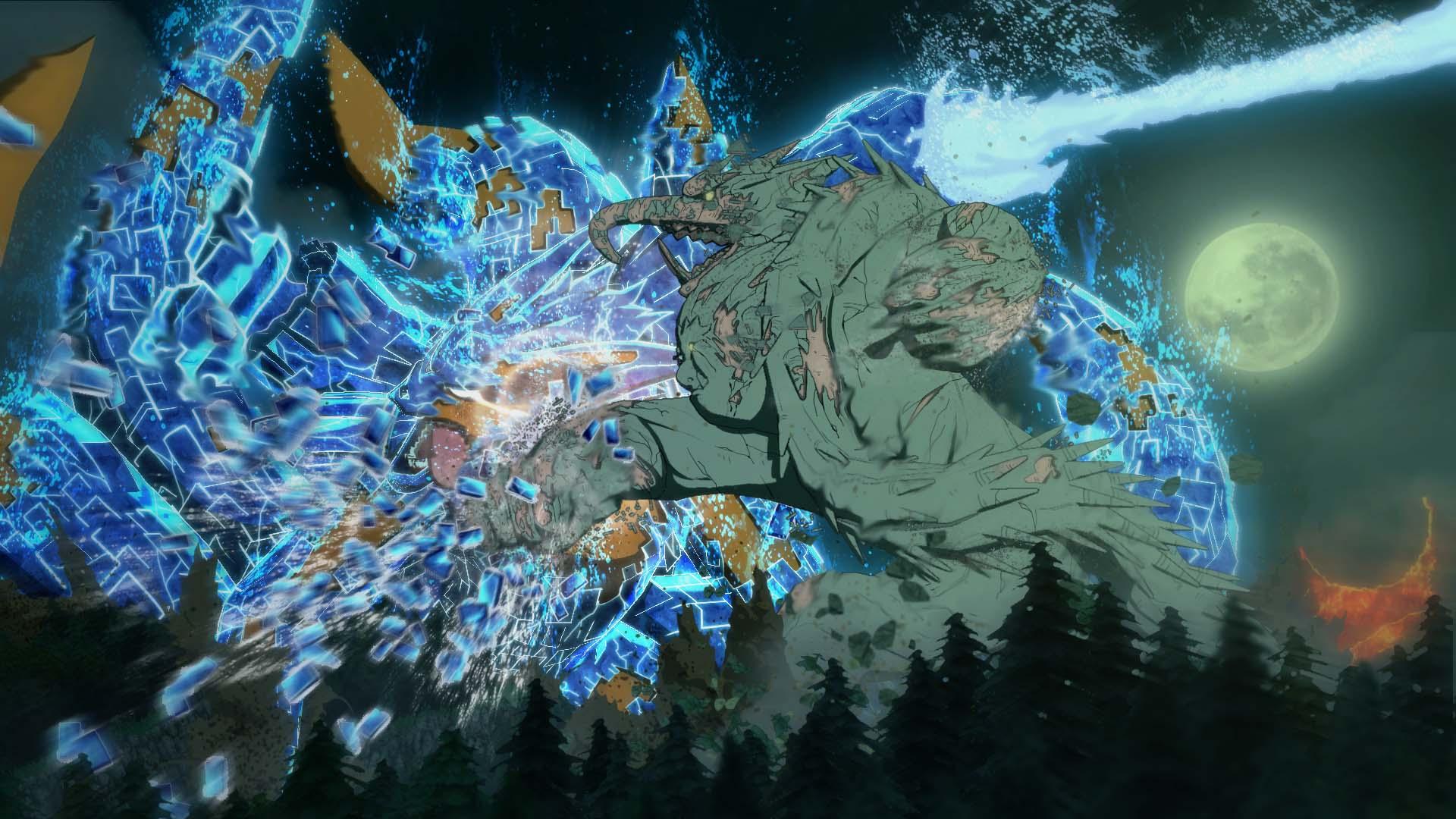 Naruto Shippuden: Ultimate Ninja Storm 4 Kurama in Susanoo armor screenshot