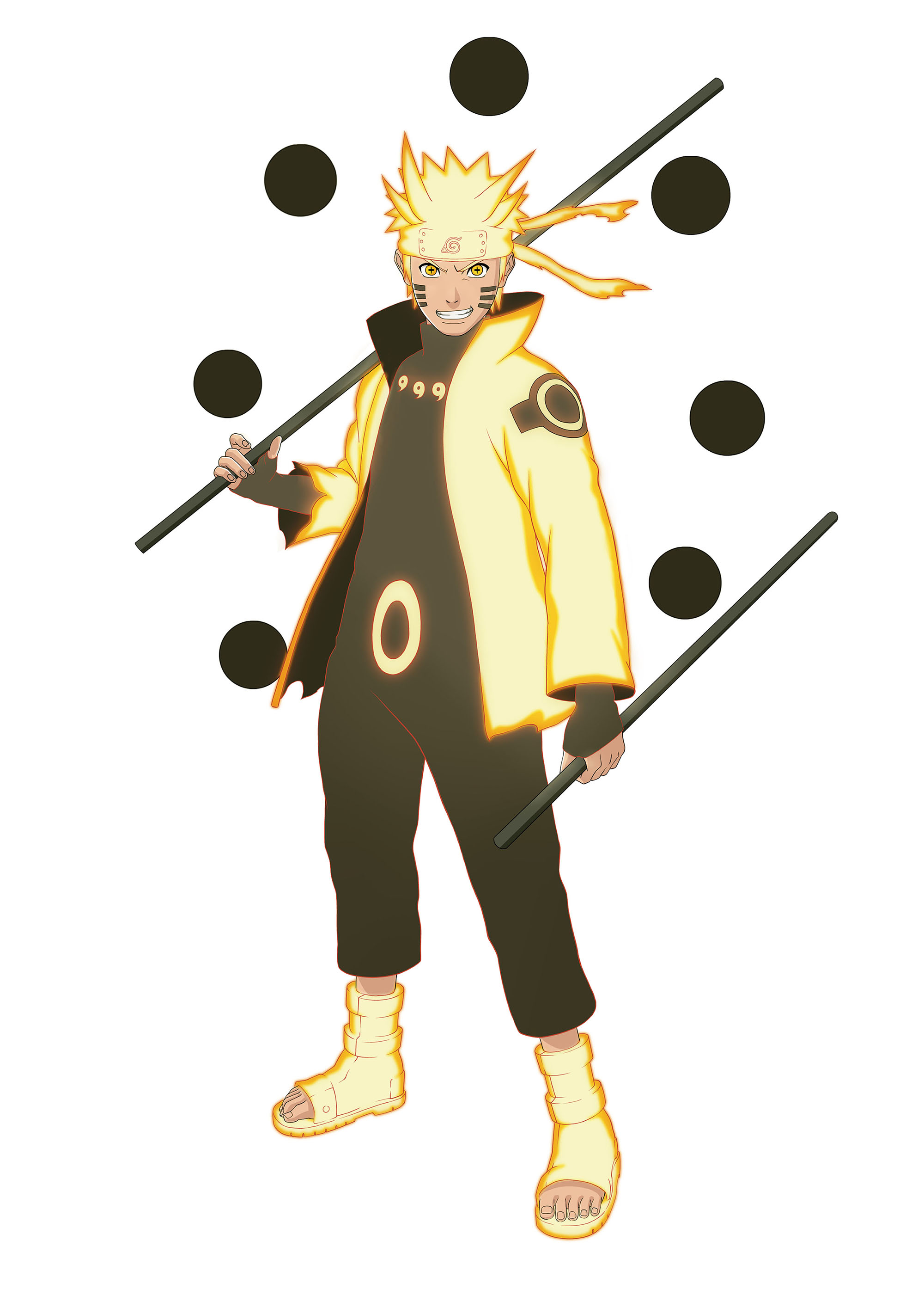 Naruto Shippuden: Ultimate Ninja Storm 4 Naruto Six Paths Sage Mode artwork