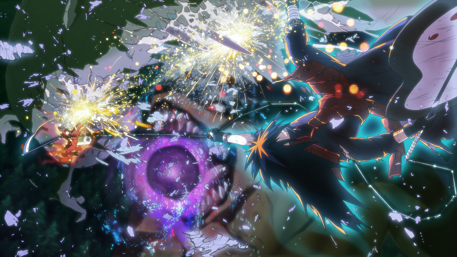 Naruto Shippuden: Ultimate Ninja Storm 4 Revived Madara Uchiha fight screenshot