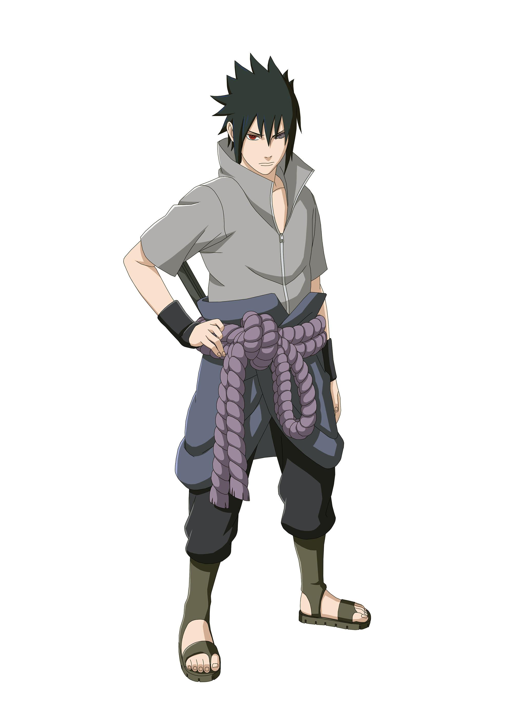 Naruto Shippuden: Ultimate Ninja Storm 4 Sasuke Rinnegan artwork