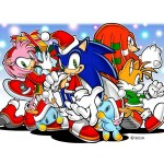 Sonic the Hedgehog Christmas Wallpaper