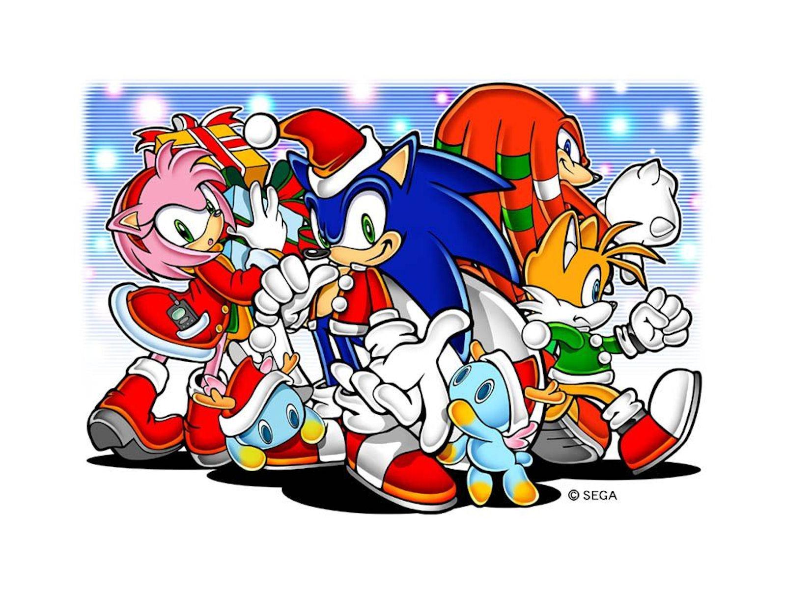 Sonic the Hedgehog Christmas Wallpaper