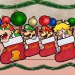 Super Mario Christmas Wallpaper