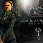 Telltale Game of Thrones Lady Elissa Forrester