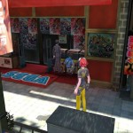 Digimon Story: Cyber Sleuth Coffee PS Vita Gameplay Screenshot