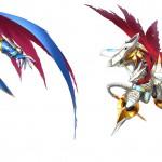 Digimon Story: Cyber Sleuth PS Vita Artwork Wings