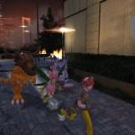 Digimon Story: Cyber Sleuth Night PS Vita Gameplay Screenshot