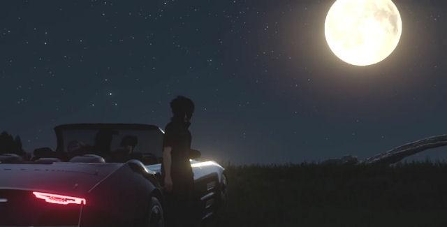 Final Fantasy XV moon screenshot