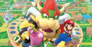Mario Party 10 Cast Bowser Coaster Artwork Official
