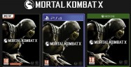 Mortal Kombat X PS4, Xbox One, PC Boxarts