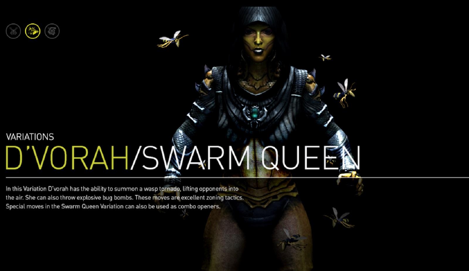 Mortal Kombat X Dvorah Swarm Queen Variation Character ...