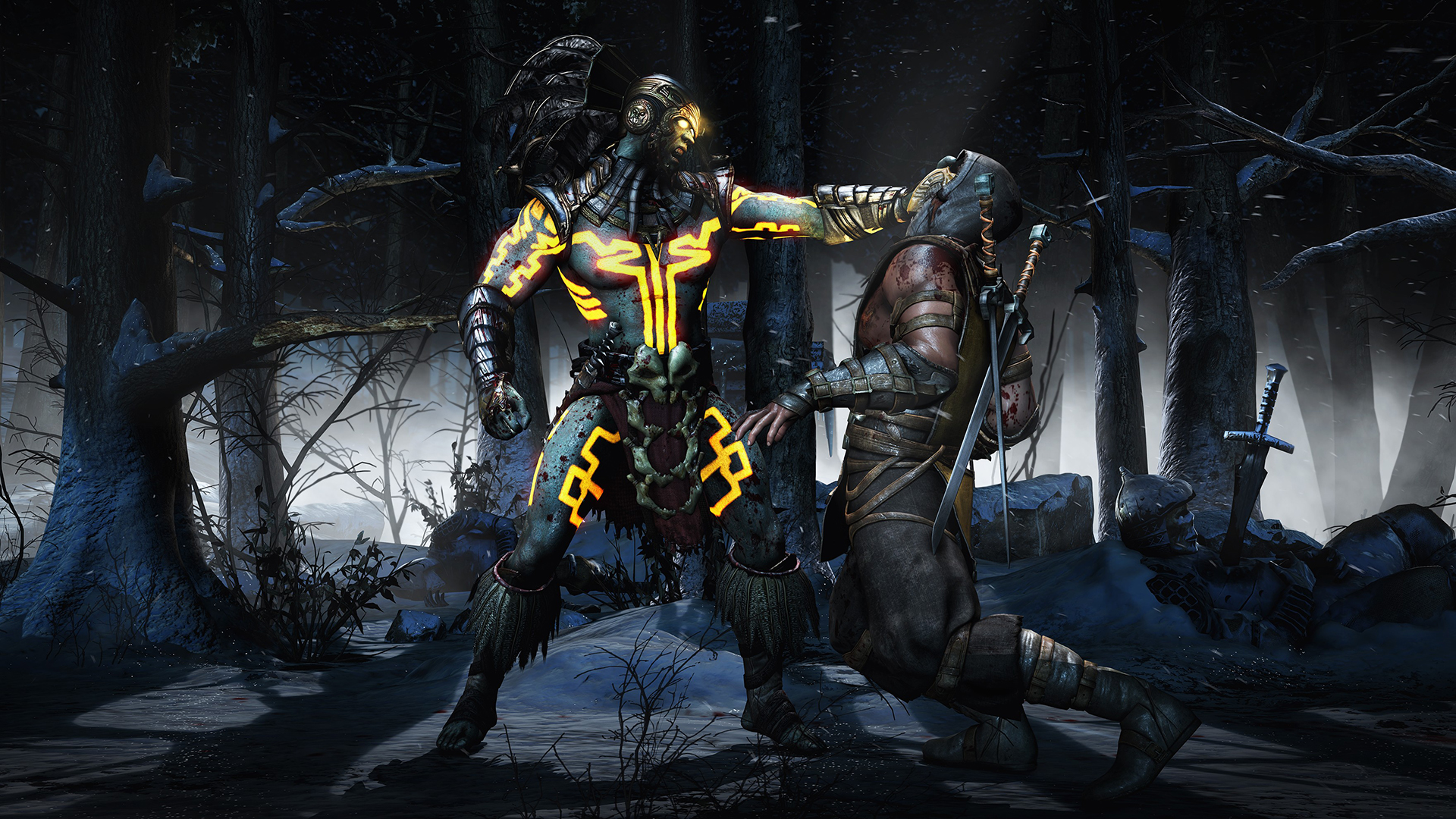 Mortal Kombat X Kotal Khan Finish Him Gameplay Screenshot