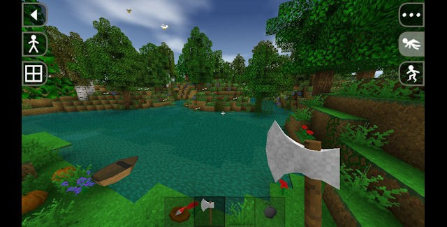 Survivalcraft iOS screenshot